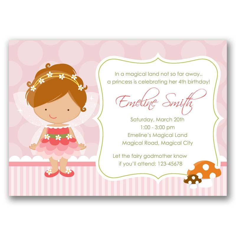 fresh fairy birthday invitation or 48 fairy birthday invitations printable