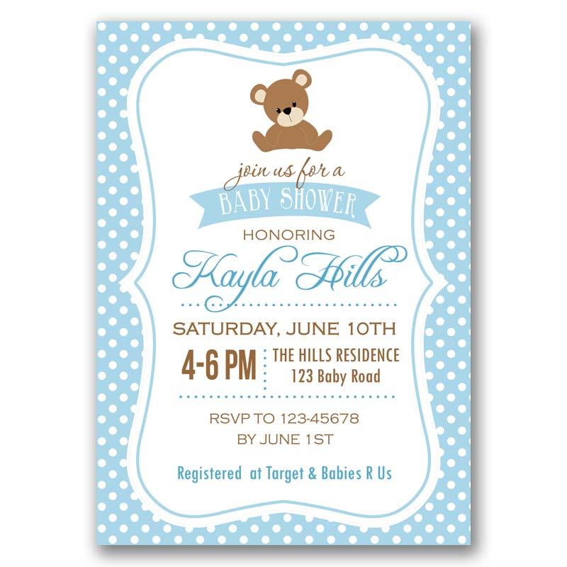 Teddy Bear Invitation Callachic