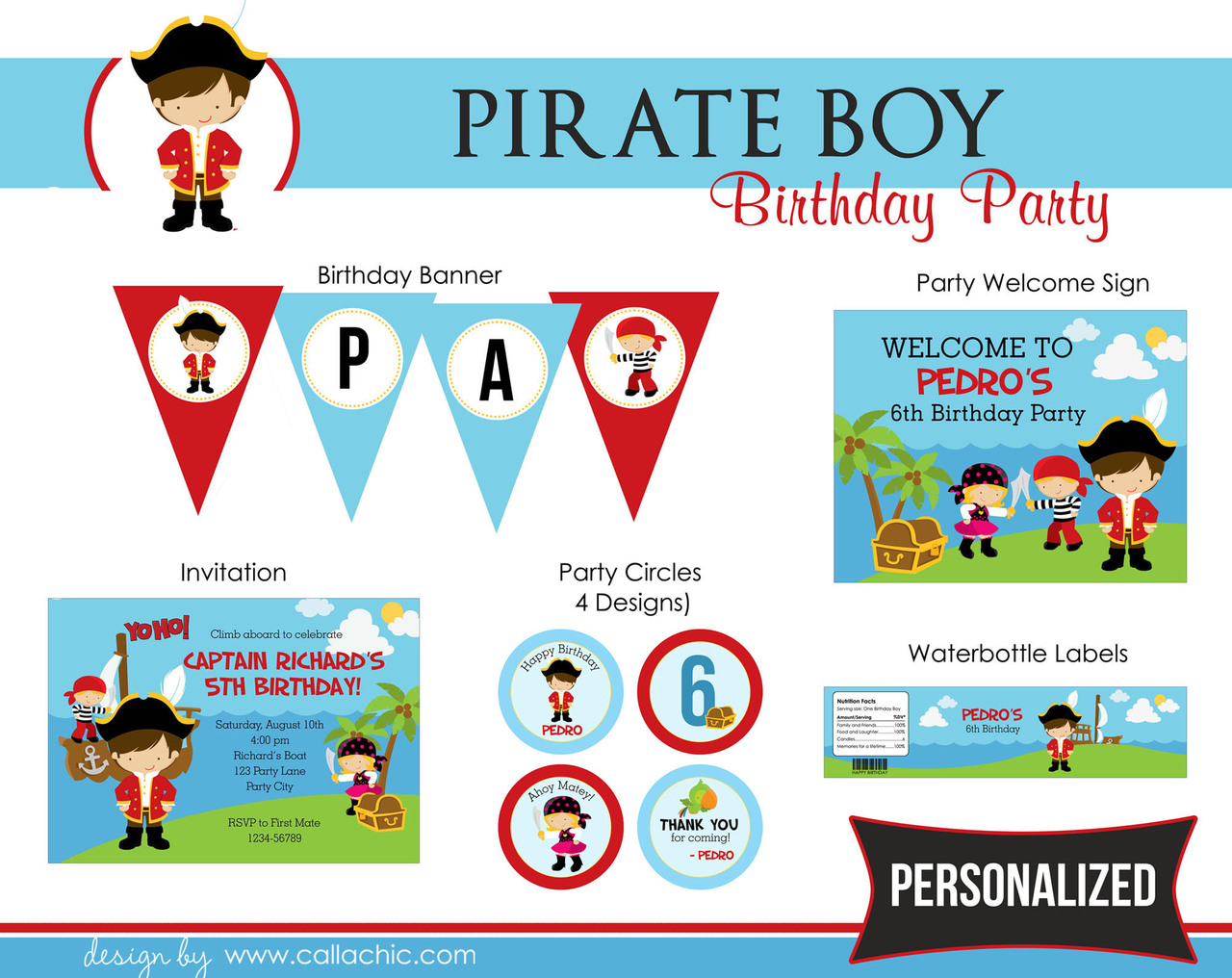 Personalized Party Package